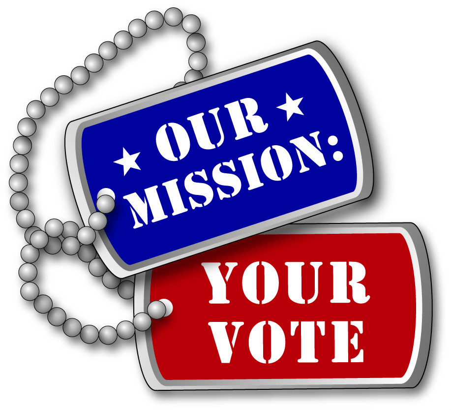 Our Mission Your Vote Logo