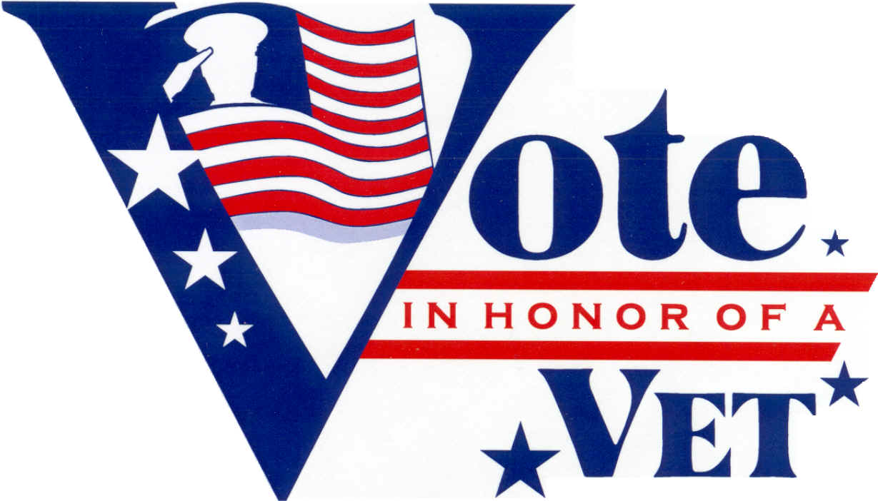 Vote in Honor of a Vet Logo